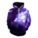 New Arrival Fashion Digital Thick Cloud Print Long Sleeve Sports Casual Hoodie