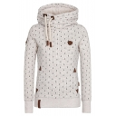 Hot Fashion Stylish Printed Basic Sports Casual Long Sleeve Hoodie