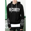 Casual Loose Sports Fashion Letter Pattern Long Sleeve Hoodie
