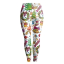 New Collection Fashion Christmas Theme Pattern Sports Yoga Leggings