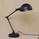 Adjustable Metal LED Desk/Table Lamp in Dark Bronze