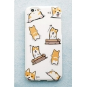 Lovely Cartoon Dog Pattern Mobile Phone Case for iPhone