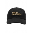 New Stylish Simple Letter Embroidered Leisure Cap for Unisex
