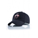 New Fashion Cartoon Flamingo Embroidered Baseball Cap