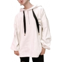 Fashion Funny Street Style Letter Pattern Oversize Long Sleeve Hoodie for Couple