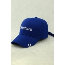 Hot Fashion Simple Letter Embroidered Outdoor Baseball Cap