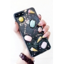 Adorable Macaron Ice-cream Shimmering  Transparent iPhone Case