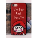 New Fashion Cartoon Printed Mobile Phone Case for iPhone