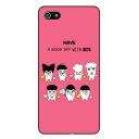 New Collection Color Block Cartoon Print TPU Soft iPhone Case
