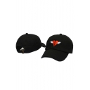 New Stylish Broken Heart Print Outdoor Unisex Baseball Cap