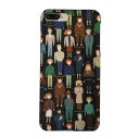 New Fashion Cartoon Crowd Pattern Mobile Phone Case for iPhone