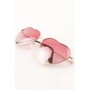 New Stylish Heart Shape Unisex Sunglasses