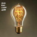 64*148mm A19 110V  E27 40W Edison Bulb