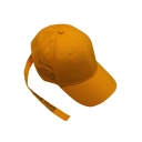 New Stylish Letter Printed Ribbon Design Outdoor Adjustable Baseball Cap