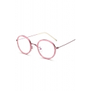 Chic Vintage Simple Plain Glasses for Couple