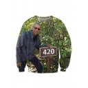 New Fashion Graphic 3D Printed Long Sleeve Pullover Sweatshirt