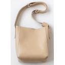 Hot Fashion Solid Seam Detail Shoulder Bag