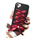 New Fashion Crisscross Bow Tie Back Mobile Phone Case for iPhone