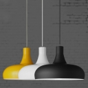 Industrial Pendant Light in Nordic Style with Dome Shade