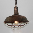 Industrial Barn Pendant Light with 10