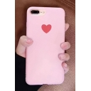 Simple Heart Printed iPhone Case