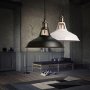 Industrial Mini Barn Pendant Light with 10.5