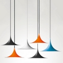 Industrial Pendant Light with 16''W Bell Shape Shade