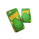 3D Dinosaur Letter Pattern Silicone iPhone Case