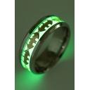 Fashionable Luminous Bat Pattern Ring