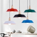 Industrial Ceiling Pendant Light with 14.17''W Warehouse Shade