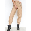 New Stylish Simple Plain Harem Pants with Chain