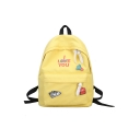 Fashion Letter Cute Print Backpack/School Bag