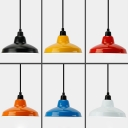 Industrial Pendant Light with 15''W Warehouse Shade
