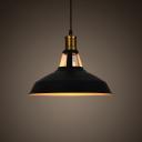 Industrial 15.35''W Barn Pendant Light in Retro Style 1 Light