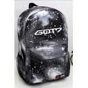 New Collection Starry Sky Letter Print Backpack