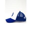 New Fashion Color Block Tree Print Baseball Cap