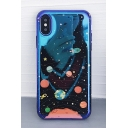 Stylish Galaxy Solar System Printed iPhone Mobile Phone Case