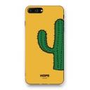 Simple Cactus Cartoon Printed iPhone Mobile Phone Case