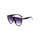 Simple Retro Sunglasses with Ombre or Clear Lens