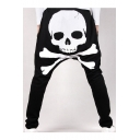 New Stylish Skull Print Drawstring Waist Harem Pants
