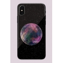 Love Earth Planet Galaxy Dreamcatcher UFO Gem Night Fireworks Cartoon Pattern iPhone Case