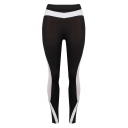 New Stylish Color Block Elastic Yoga Sports Leggings