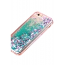 Stylish Star Sweetheart Sequined Embellished Soft iPhone Mobile Phone Case
