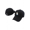 Fashionable Cartoon Figure Print Casual Outdoor Cap
