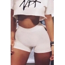 Hot Fashion High Waist Slim-Fit Super Skinny Women's Hot Pants