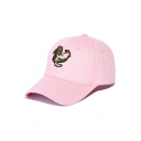 Fashionable Embroidery Cock Pattern Outdoor Baseball Cap
