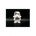Fashionable Robot Warrior Shaped Silicone iPhone Mobile Phone Case