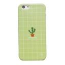 Natural Cactus Plaids Pattern iPhone Mobile Phone Case