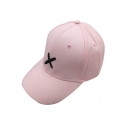 New Fashion Letter Embroidered Baseball Cap for Couple