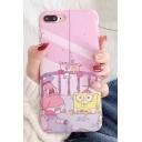 Cute Cartoon Character Spongebob Starfish Pattern iPhone Mobile Phone Case